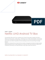 Askey Netflix UHD Set Top Box