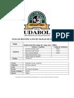 Prospección Gravimetrica/Trabajo de investigación