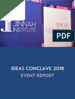 Ideas Conclave 2018 - Event Report