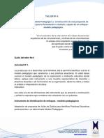 Identificación Del Modelo Pedagógico