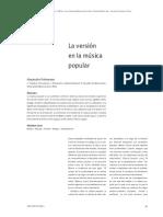 02 Polemann Alejandro La Versión en La Música Popular Alejandro Polemann Arte e Investigación Nº9