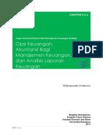 Chapt 4,5,6 - Opsi Keuangan, Akuntansi Di Manajemen, Analisis Laporan Keuangan
