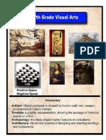 Art Vocabulary Posters