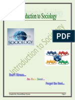 Intro to Sociology (Final)