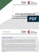 Negocios Limpios:las del IBEX mejoran su transparencia en temas de corrupción