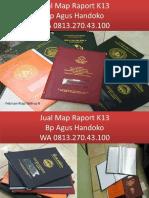 WA 0813.270.43.100, Jual Cover Raport SD Kurikulum 2013 di Aek Kanopan Sumatra Utara