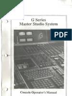 SSL Console Operator Manual