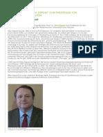 2014-04!02!31792-Univ.-prof. Dr. Otto Dapunt Zum Professor Für Herzchirurgie Berufen