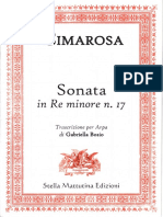Cimarosa-Sonata in Re Minore No.17