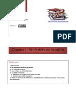 Chapitre I Généralités Sur La Cellule