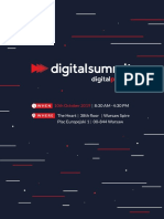 Agenda of the 1st Edition of Digital Summit in Poland - 10.10.2019