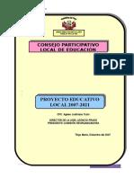 Proyecto Educativo Local Ugel Leoncio Prado