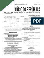 Estatuto Orgânico Do Ministério Da Administração Pública, Trabalho e Segurança Social