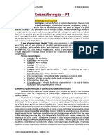 Reumatologia (P1+P2) - 6°P