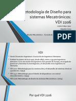 Metodología de Diseño para sistemas Mecatrónicos.pptx