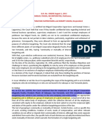 Bargaining Unit Case Digests PDF