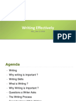 Writing Effectively Prototype