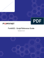 Fortiadc v5.3.0 Script Reference Guide