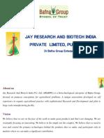 Jrabipl - Biopesticide and Biofertilizer, Biotechnology, Research