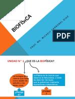 Biofísica 1 Unidad