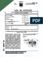 Instalatie Pentru Formarea Tuburilor Flexibile Din Materiale Plastice La Diametre Mici Si Medii 02423042
