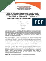 Modelo Pedagógico Basado en Service Learning Socioformación