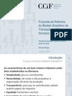 Proposta de Reforma Do Modelo Brasileiro de Tributacao de Bens e Servicos_Appy