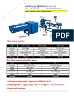 Cotton Fiber Opening and Filling Machine From Amy- Joconn Machinery