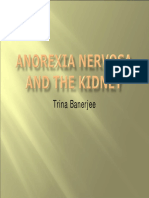 Anorexia Nervosa and the Kidney