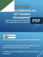ICT Content
