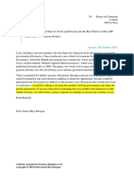 Scribd Letter to the Secretary of State for Work and Pensions the Rt Hon Therese Coffey MP Regarding New Pension Product.