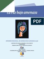 Informe Regional de Derechos Humanos