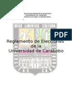 Reglamento Elecciones Uc