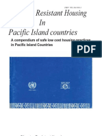 Disaster Resistant Housing in the Pacific