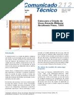 Modelo de caixa para Uruçu