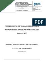 P-pts- 05. Intalacion de Bandejas Porta Cables y Canaletas. (1)