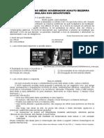 Simulado Dos Descritores - 2º Período 2019