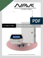 Manual Alarma FC7688 WAVE Esp
