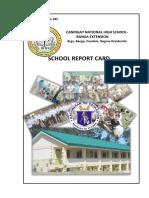 School Report Card 2016-2017