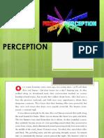 Perception 2019