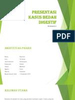 Presentasi Kasus Bedah Digestif