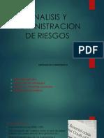 Analisis y Administracion de Riesgos