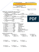 2nd Periodic Test 2015-2016
