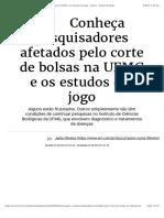 Conheça pesquisadores afetados pelo corte de bolsas na UFMG e os estudos em jogo - Gerais - Estado de Minas