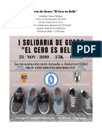 I Carrera Solidaria Guaro