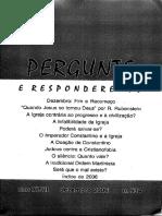 Revista Pergunte e Responderemos Ano XLVII No 534 Dezembro de 2006