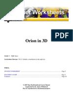 Project Orion 3d