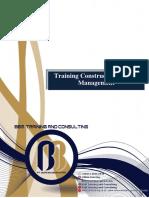 Training Construction Project Management