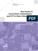 Key Issues in Curriculum, Assessment, and ICT Basic Education