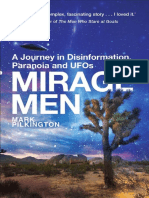 Mirage Men a Journey Into Disinformation, Paranoia and UFOs - Mark Pilkington